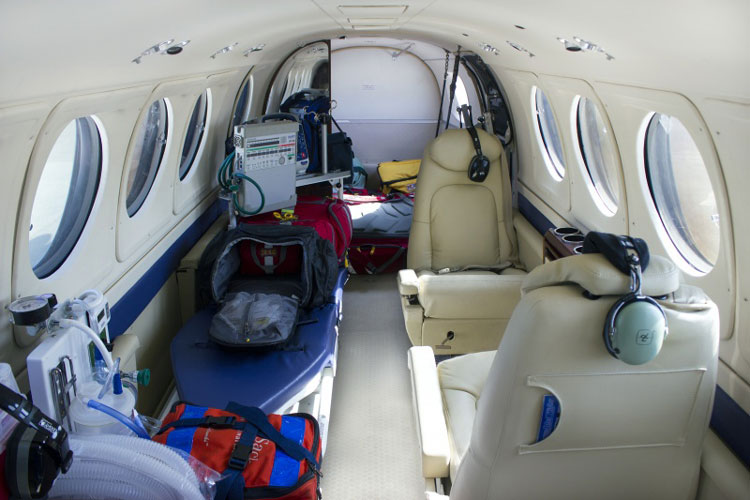 The Effect of Altitude on Aeromedical Transport - Is it safe to transport a Patient