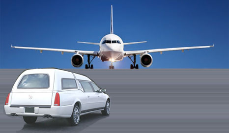 Funeral Shipping Services Dead Body Transport in Coffin on Commercial Flights