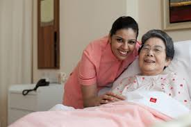 An elderly lady was transported with a team of Doctor and Nurse from Dubai UAE to Jakarta Indonesia